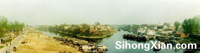 泗洪县世纪公园新老照片