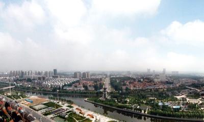泗洪城北全景