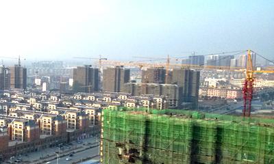建设中的泗洪城南 泗洪南部新城 泗洪风情图片 泗洪建设风情