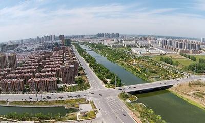 空中看泗洪系列图片 城南全景 【泗洪电视台航拍团队】
