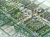 泗洪县珠江路城市设计图 泗洪珠江路全景效果图