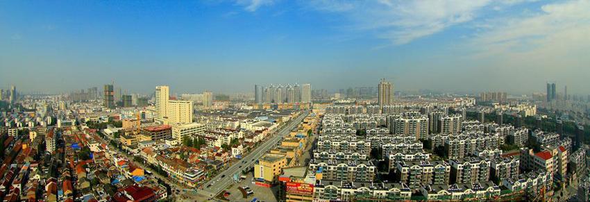 泗洪县城市图片欣赏 泗洪城市图片鸟瞰图