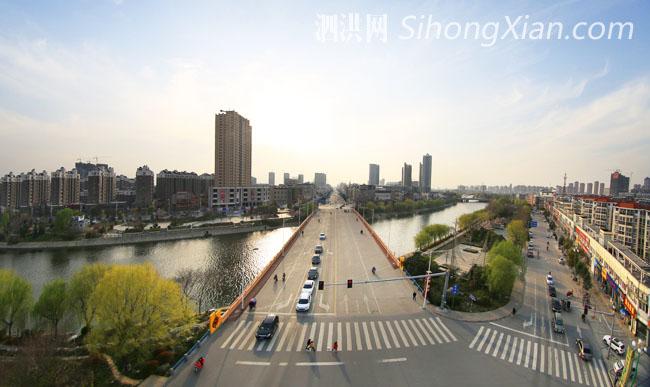 泗洪2015春色满城 精彩城市大片