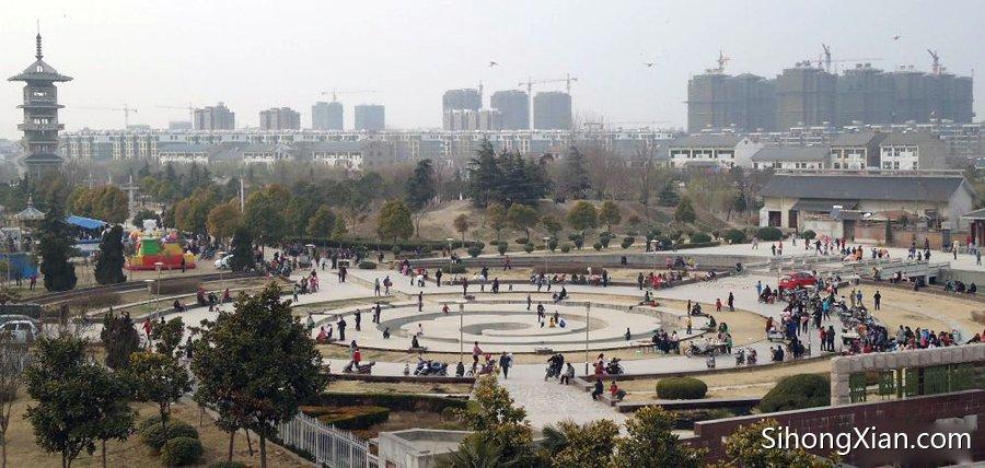 世纪公园改建前的照片