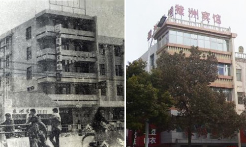 泗洪新老照片对比:见证泗洪几十年的变迁!