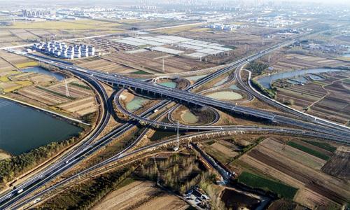 宿扬高速泗洪段12月20日正式通车