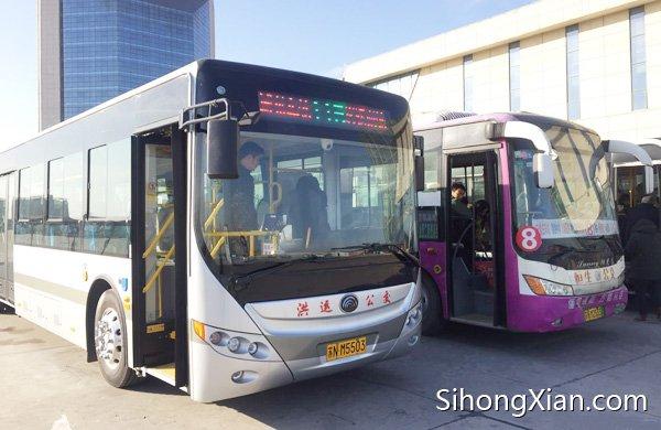 泗洪公交新开通115路(泗洲大街专线)汽车南站至汽车东站