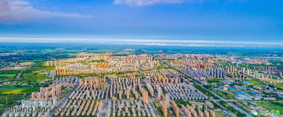 张连华作品:空中看泗洪