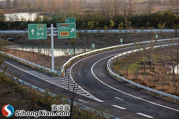 宿扬高速泗洪段明日(12月19日)正式通车
