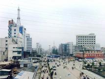 泗洪老照片 -- 泗洪人的新街口