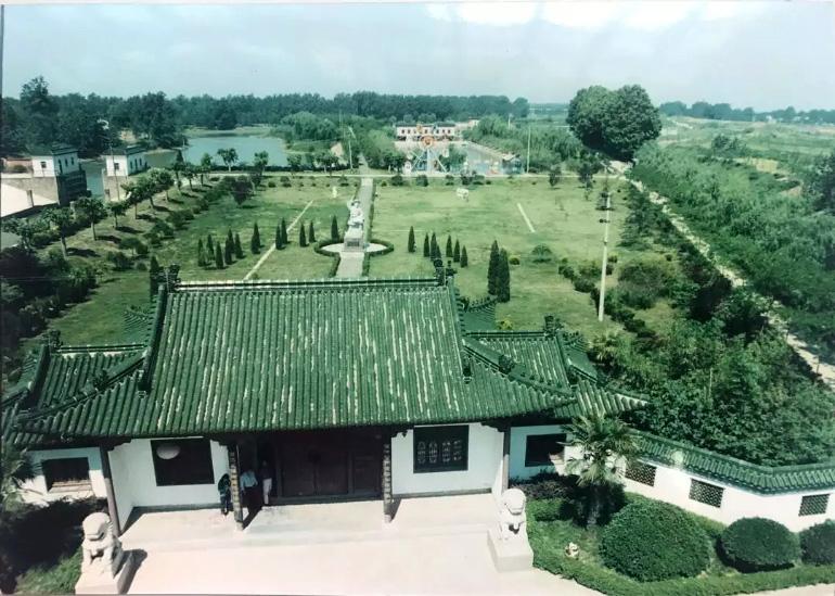 泗洪西郊公园老照片