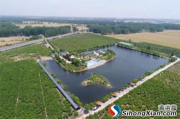 """泗洪朱湖""""世外桃源休闲度假区""""被评为省三星级乡村旅游区"""