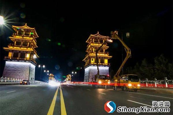 泗洪县路灯改革创新 城区亮灯率99%以上