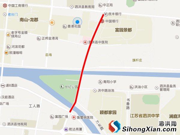 泗洪青阳路高架桥快速路项目招标 计划今年8月开工