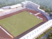 泗洪县体育场改造工程全面启动
