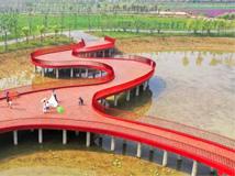 泗洪城区又一生态湿地公园完工