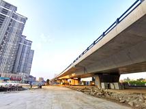 泗洪青阳路高架桥建设最新进展