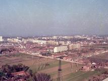 1990年泗洪电视塔看泗洪