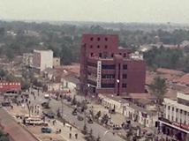 泗洪泗州大街湖西商场方向老照片